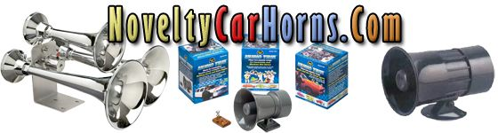 Novelty Car Horns | Car Horns That Play Music | Loud Musical Truck Air Horns